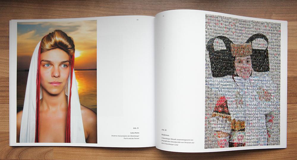 Foto links: Lukas Kawa, rechts: Khalid Aziz